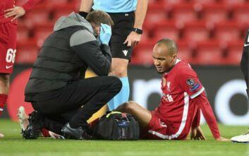 Η κατάρα με τους τραυματισμούς «χτύπησε» ξανά τη Λίβερπουλ