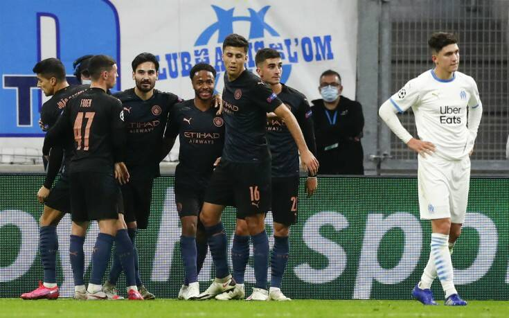 Champions League: Τριάρα της Μάντσεστερ Σίτι στη Μαρσέιγ - Γλίτωσε με ισοπαλία η Ρεάλ κόντρα στη Γκλάντμπαχ