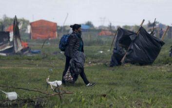 Αναβρασμός στην Αργεντινή: Εκατοντάδες άστεγοι που δημιούργησε ο κορονοϊός εκδιώχθηκαν από καταυλισμό