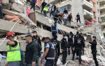 Φονικός σεισμός στη Σμύρνη: Ανεβαίνει ο αριθμός των νεκρών - Πάνω από 400 οι τραυματίες