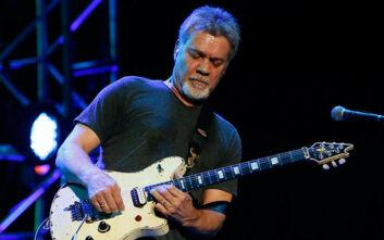 Θρήνος στον χώρο της μουσικής: Πέθανε από καρκίνο ο Eddie Van Halen