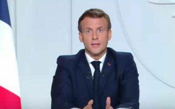 Μπαίνει σε lockdown η Γαλλία από την Παρασκευή, ανοικτά τα σχολεία