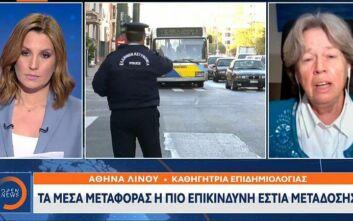 Κορονοϊός: Τα 8 μέτρα για να αντιμετωπιστεί η πανδημία - Οι προτάσεις της Αθηνάς Λινού