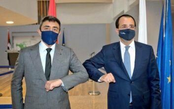 Σύντομα η πρώτη τριμερής συνάντηση Κύπρου – Ελλάδας – Ηνωμένων Αραβικών Εμιράτων, στη Λευκωσία