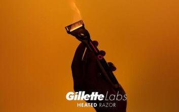 Δοκιμάσαμε το νέο Heated Razor της Gillette και απολαύσαμε την αίσθηση ξυρίσματος με ζεστή πετσέτα σε κάθε κίνηση
