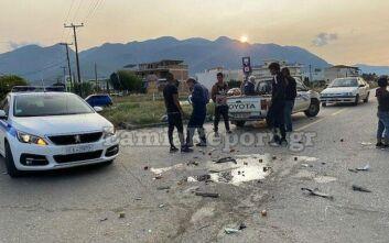 Λαμία: Αγροτικό όχημα παραβίασε STOP και τραυμάτισε σοβαρά 40χρονο αναβάτη δικύκλου