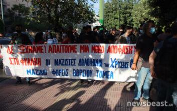 Δίκη Χρυσής Αυγής: Μαζεύεται κόσμος στην Αλεξάνδρας - Κλειστή η κάθοδος