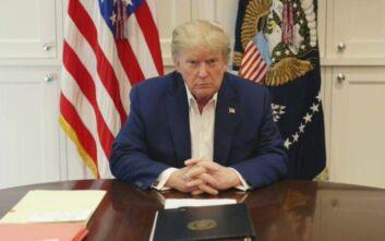 Γιατρός Ντόναλντ Τραμπ: Δεν εμφανίζει πλέον συμπτώματα του κορονοϊού
