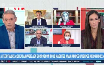 Γεωργιάδης: Στο τραπέζι να κλείνει στις 10 το βράδυ η εστίαση