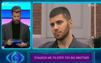 Big Brother: Εκτός σπιτιού ο Βλαδίμηρος Νικόλα