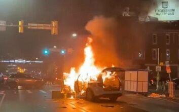 ΗΠΑ: Απαγόρευση της κυκλοφορίας στη Φιλαδέλφεια έπειτα από δύο νύχτες βίαιων επεισοδίων