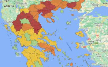 Χάρτης υγειονομικής ασφάλειας: Επτά περιοχές στο επίπεδο 4 - Ποιες ακόμα άλλαξαν επίπεδο