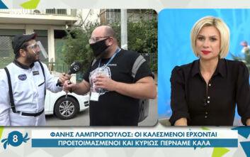"""Φάνης Λαμπρόπουλος: «Άλλο εμείς άλλο οι """"Σφήκες"""" το ένα είναι εκπομπή, το άλλο είναι στήλη»"""
