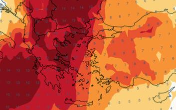 Καιρός: Πόσο θα φτάσει η θερμοκρασία την Κυριακή και τη Δευτέρα