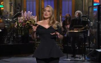 «Μισή» εμφανίστηκε η Αντέλ στο Saturday Night Live» μετά από 12 χρόνια