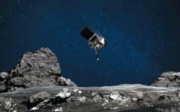 NASA: Το OSIRIS-REx άγγιξε τον αστεροειδή Μπενού για να συλλέξει δείγμα από την επιφάνειά του