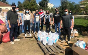 Στελέχη της ΝΔ επισκέφτηκαν πληγέντες από την κακοκαιρία Ιανός στη Θεσσαλία