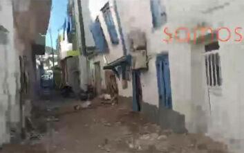 Οι πρώτες εικόνες από τη Σάμο μετά τον ισχυρό σεισμό – Ταρακουνήθηκε όλη η Ελλάδα
