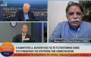 Βατόπουλος: Θέμα ωρών οι ανακοινώσεις για τα νέα μέτρα