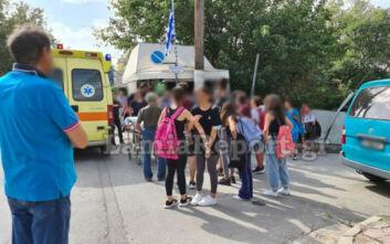 Λαμία: Μαθητής παρασύρθηκε από μηχανή