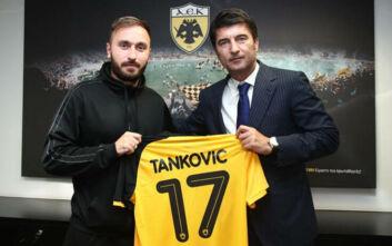 ΑΕΚ: Και επίσημα στα κιτρινόμαυρα για τέσσερα χρόνια ο Τάνκοβιτς