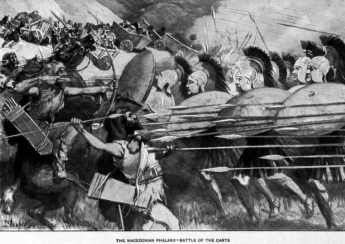 Με πόσο στρατό έφτιαξε ο Μέγας Αλέξανδρος τη μεγαλύτερη αυτοκρατορία του αρχαίου κόσμου 7