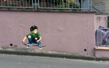 Η τέχνη του δρόμου σε άλλο επίπεδο