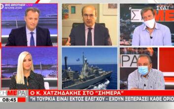 Χατζηδάκης: Αν η Τουρκία άνοιξε την πόρτα του φρενοκομείου δεν θα μπούμε μέσα