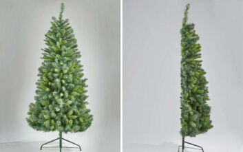 Πουλιούνται... μισά Χριστουγεννιάτικα δέντρα
