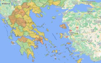 Κρούσματα σήμερα 12/10: Οι περιοχές που εντοπίστηκαν