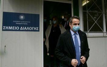 Στο νοσοκομείο Σωτηρία αύριο ο πρωθυπουργός Κυριάκος Μητσοτάκης