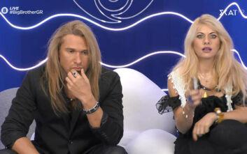 Big Brother: «Χαοτική» η σχέση του Δημήτρη Πυργίδη και της Άννας Μαρία Ψυχαράκη