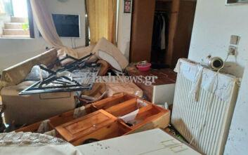 Απίστευτες εικόνες από την κακοκαιρία στο Ηράκλειο: Απεγνωσμένοι κάτοικοι είδαν τα σπίτια τους να καταστρέφονται στις λάσπες