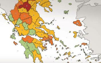 Κορονοϊός στην Ελλάδα: Πού εντοπίζονται τα κρούσματα