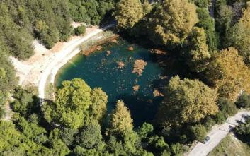 Η μυστική και παραμυθένια λίμνη της Ηπείρου