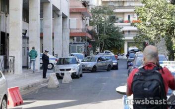 Εικόνες από τη ΓΑΔΑ που μεταφέρθηκαν Μιχαλολιάκος, Κασιδιάρης, Γερμενής και Ηλιόπουλος