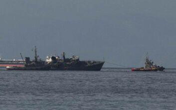 Σύγκρουση πλοίων στον Πειραιά: Η ανακοίνωση του υπουργείου Ναυτιλίας