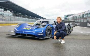 Ο Nico Rosberg στο αγωνιστικό μονοθέσιο ID.R