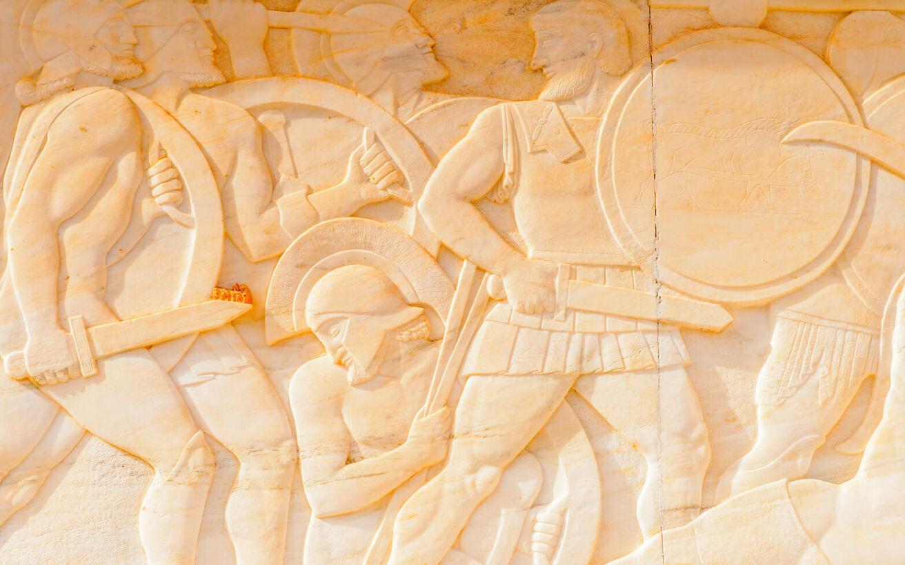 Οι διαφορετικές ιστορίες δύο στρατιωτών του Λεωνίδα που έχασαν την όρασή τους πηγαίνοντας στις Θερμοπύλες