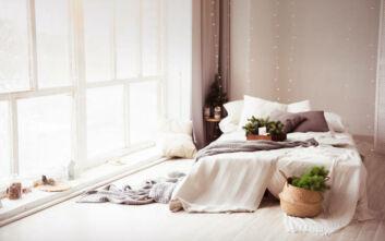 Πώς να μετατρέψετε το υπνοδωμάτιό σας σε έναν παράδεισο ηρεμίας