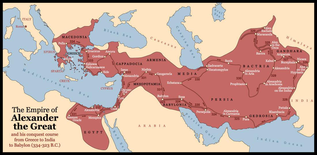 Με πόσο στρατό έφτιαξε ο Μέγας Αλέξανδρος τη μεγαλύτερη αυτοκρατορία του αρχαίου κόσμου 3