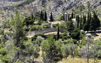 Το ιστορικό μοναστήρι της Χίου, ένα από τα πιο πλούσια και φημισμένα του Αιγαίου