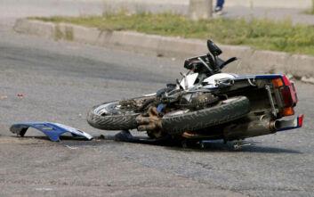 Νεκρός δικυκλιστής σε τροχαίο στη Χαλκιδική