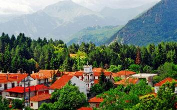 Αλπικά τοπία στα «δίδυμα» χωριά της Θεσσαλίας