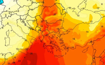 Καιρός: Ανεβαίνει η θερμοκρασία - Η μεταφορά των θερμών αερίων μαζών σε χάρτες