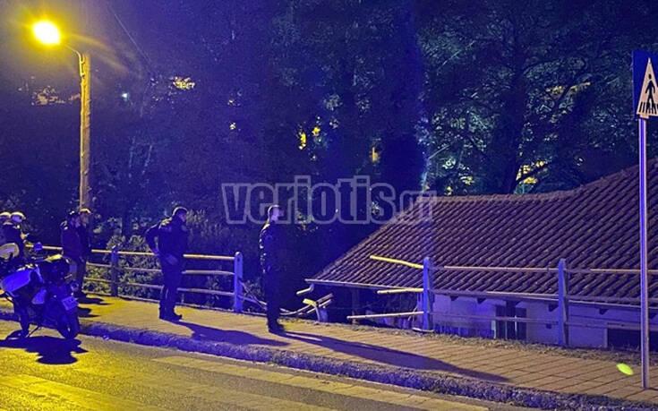 Βέροια: Αυτοκίνητο «πέταξε» και προσγειώθηκε σε αυλή σπιτιού 12