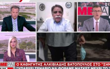 Βατόπουλος: Αν χειροτερέψει η κατάσταση μπορεί να πάμε σε απαγόρευση κυκλοφορίας