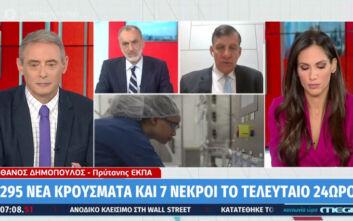 Δημόπουλος: Τους χειμερινούς μήνες αναμένουμε αύξηση των κρουσμάτων