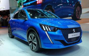 Διάκριση για το Peugeot e-208: Αναδείχθηκε «Ηλεκτρικό Αυτοκίνητο της Χρονιάς» από το περιοδικό «WhatCar?»