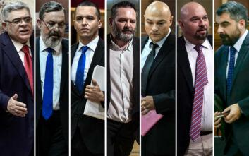 Δίκη Χρυσής Αυγής: 13 χρόνια στον Μιχαλολιάκο και σε 5 ηγετικά στελέχη - 10 χρόνια στον Ματθαιόπουλο - Ισόβια στον Ρουπακιά